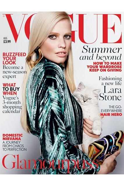 Monica Lloret » Vogue Uk August 2015